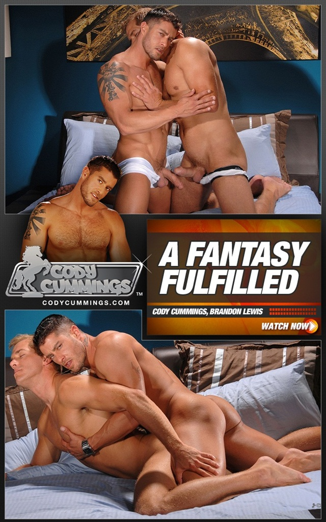 Brandon Lewis Fucks Cody Cummings Ass with his Huge uncut dick anal Virgin Cody Takes it like a man 011 Cody Cummings finally gets his ass fucked by Brandon Lewis?