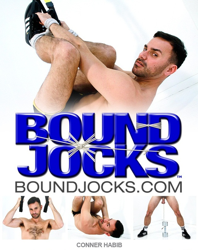 Conner Habib in Gay bondage Sex Slave for Bound Jocks download full movie torrents here