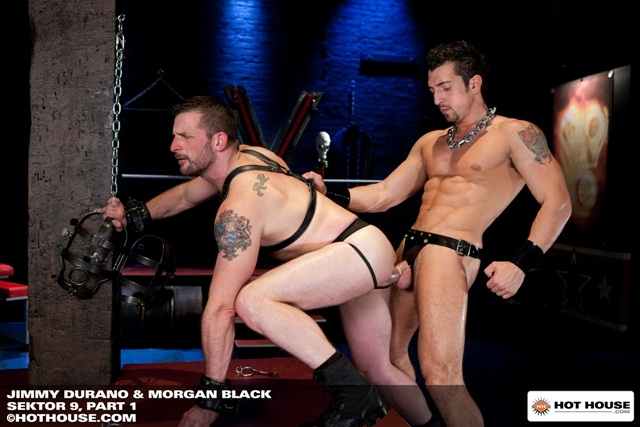 Jimmy Durano and cock pig Morgan Black caged for HotHouse download full movie torrents or check the full photo gallery