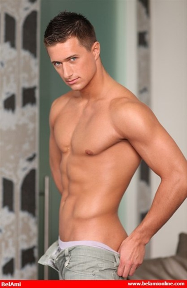 Naked young boy Belami ripped muscle body Rene curved cock and washboard abs 05 photo Belami: Ripped Muscle Boy Rene