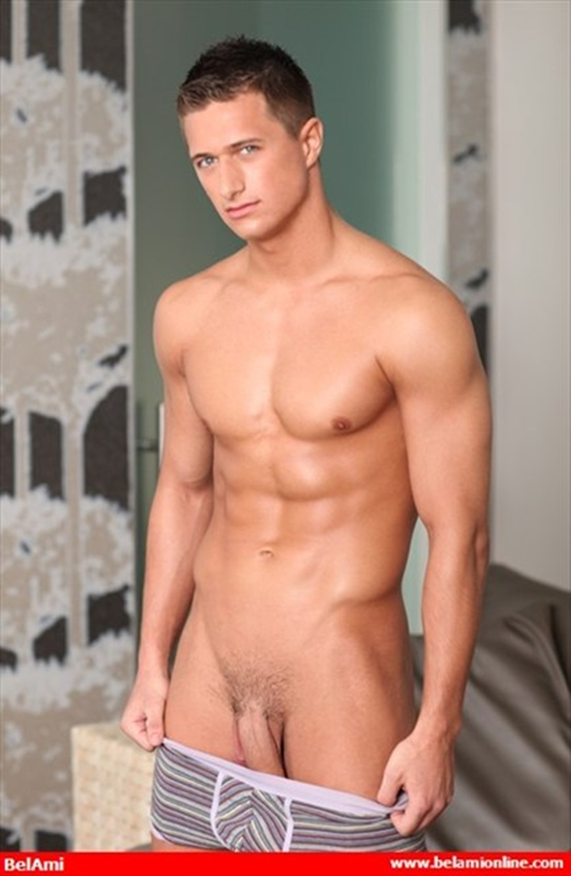Naked young boy Belami ripped muscle body Rene curved cock and washboard abs 07 photo Belami: Ripped Muscle Boy Rene