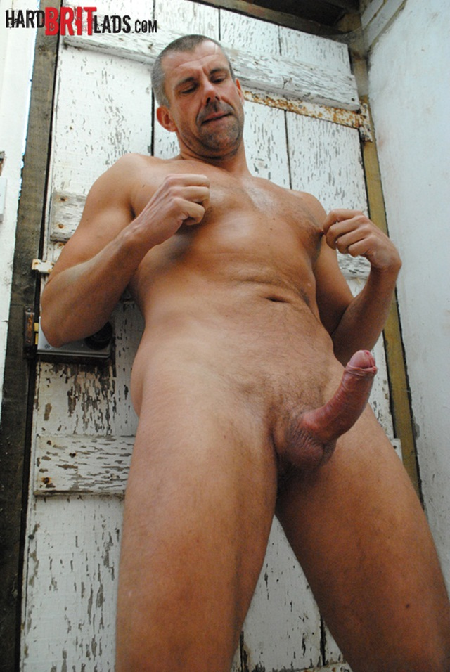 naked hard cock