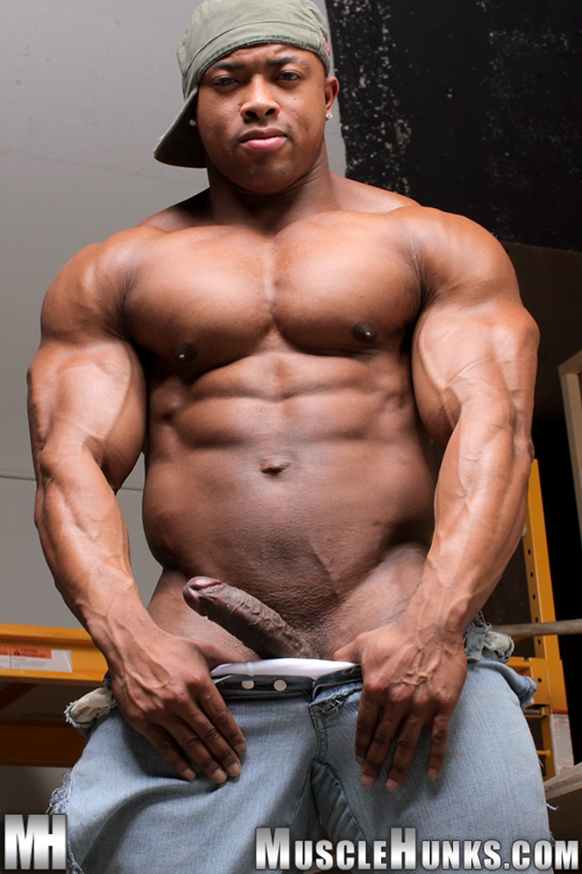 Naked Ron Hamilton Thumb Ripped Muscle Bodybuilder Strips