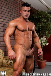 nude gay porn pics Enzo Pileri gallery 001 Ripped Muscle Bodybuilder Strips Naked and Strokes His Big Hard Cock for at Muscle Hunks photo11 Muscle Hunks: Nude Bodybuilder Gallery