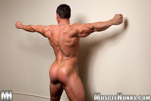 Strips Naked And Strokes His Big Hard Cock For At Muscle Hunks
