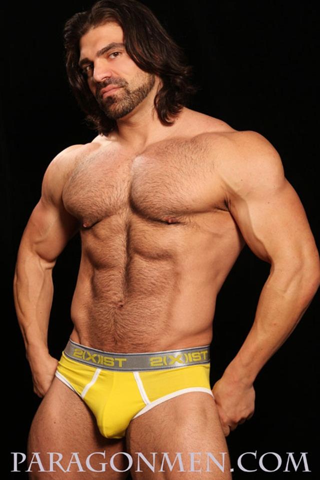 Naked Man Muscle Bodybuilder