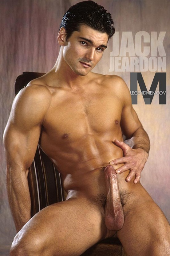 Legend Men Hot naked muscle hunks Jack Jeardon Ripped Muscle ...