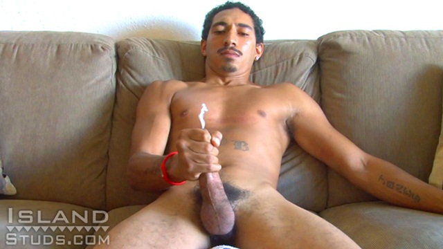 Huge naturals hang while sucking for cum