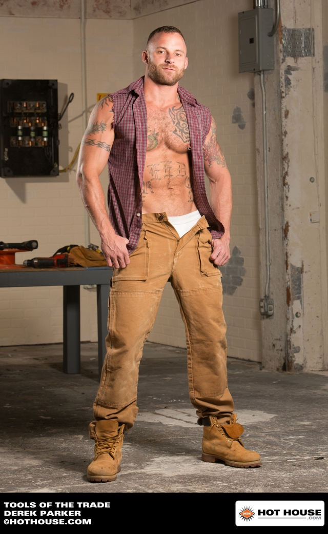 Hairy tattooed hunk Derek Parker fucked by Jimmy Durano at Hothouse 01 Ripped Muscle Bodybuilder Strips Naked and Strokes His Big Hard Cock torrent photo1 Hairy tattooed hunk Derek Parker fucked by Jimmy Durano