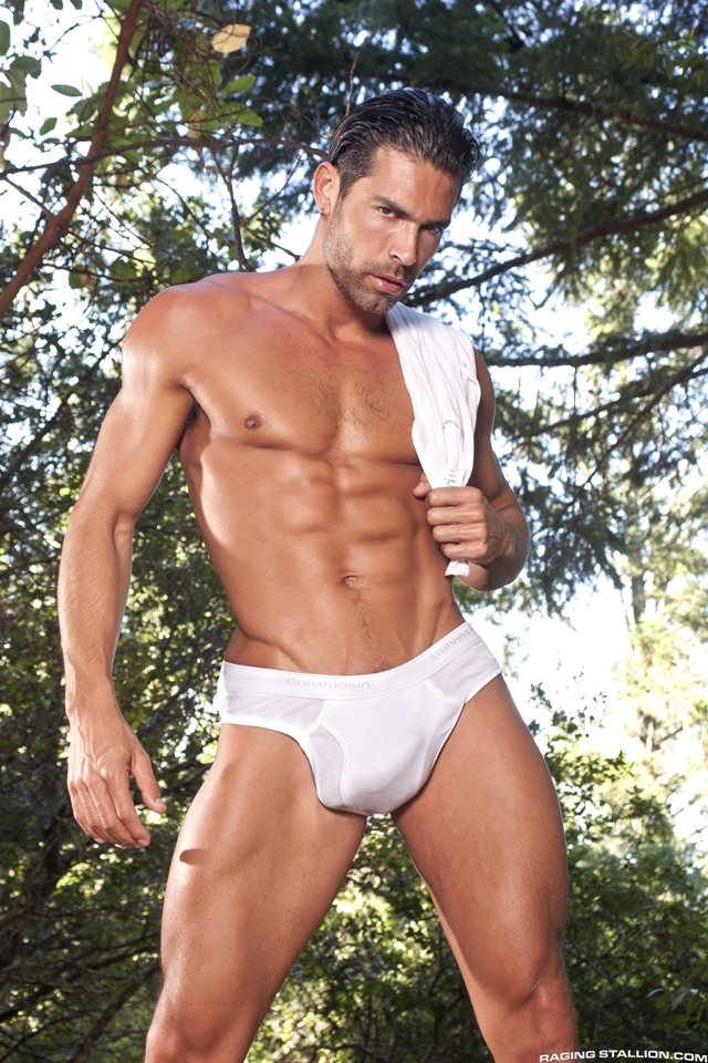 Outdoor-gay-fucking-DO-Jesse-Santana-in-the-Woods-part-2-Raging-Stallion-03-photo