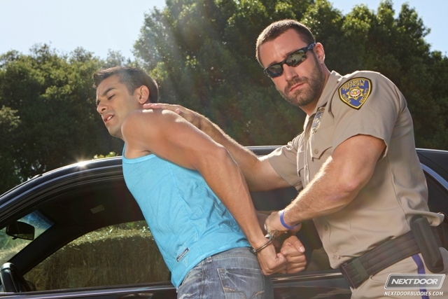 Cop men orgy gay fucking the white officer 8