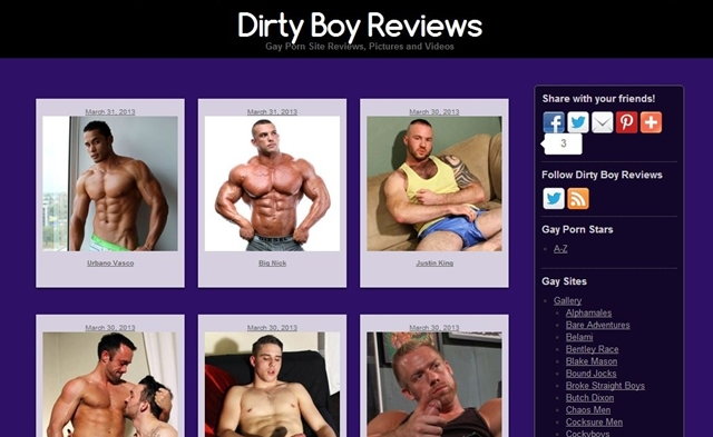 Check out the Dirty Boy Reviews Home Page