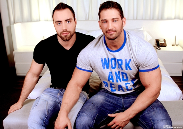 Christian Power and Alec Leduc Gay Porn Star Men of Montreal naked muscle hunks huge cock muscled bodybuilder 01 pics gallery tube video photo Christian Power and Alec Leduc