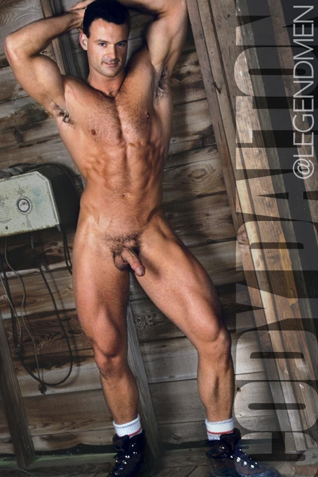 Legend Men Muscle Hunk Nude Bodybuilder Cody Dalton Gay Porn Pics