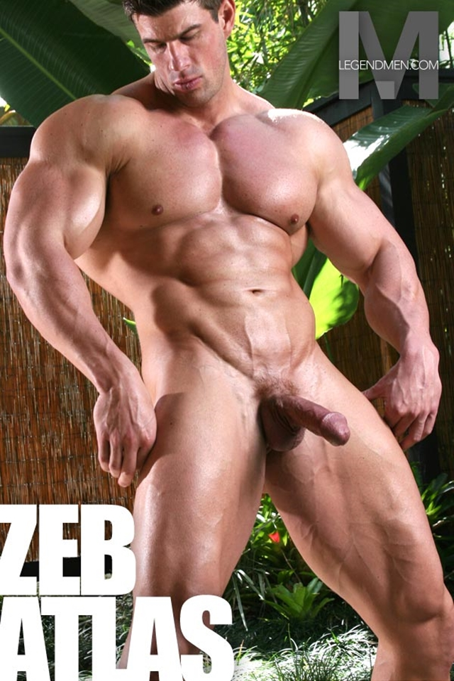 Legend Men Muscle Hunk Nude Bodybuilder Zeb Atlas Gay Porn Pics Video