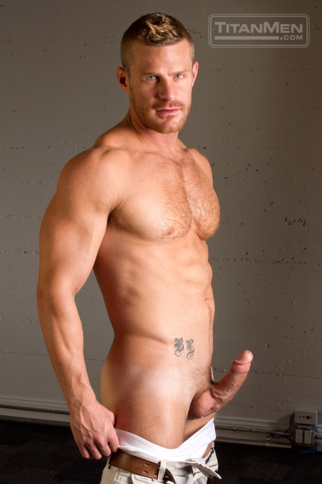 Gay muscle porn star landon conrad ass