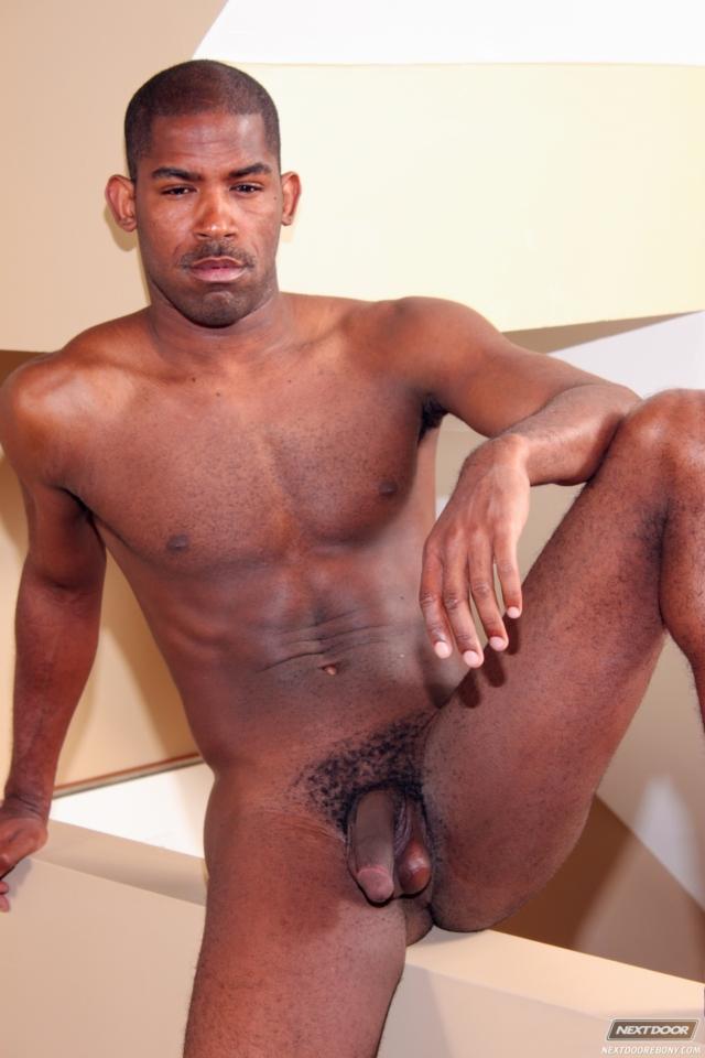 Nude ebony male