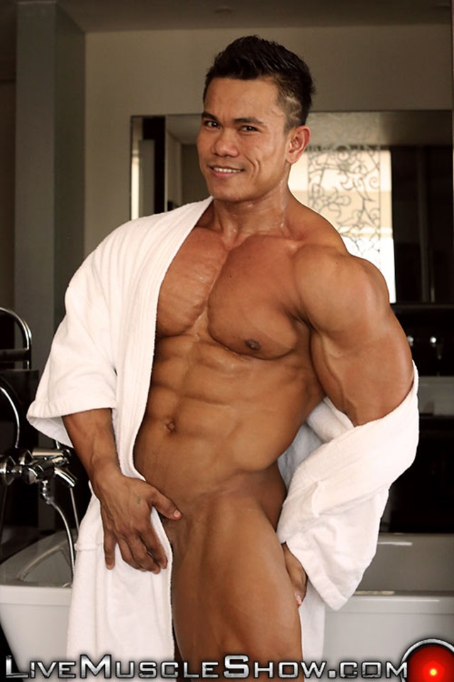 Asian muscle porn