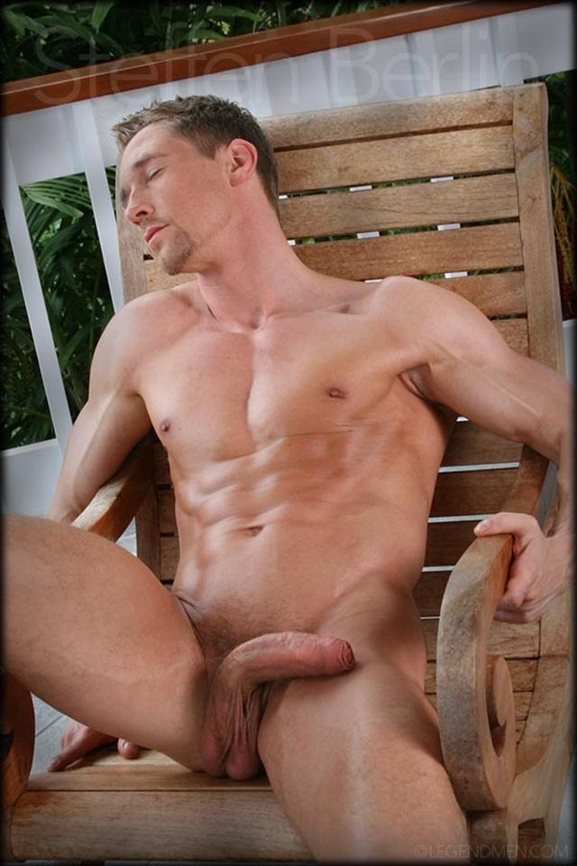 Steffen Berlin  Gay Porn Star Pics  Muscle Hunk Huge 10 Inch Dick-4727