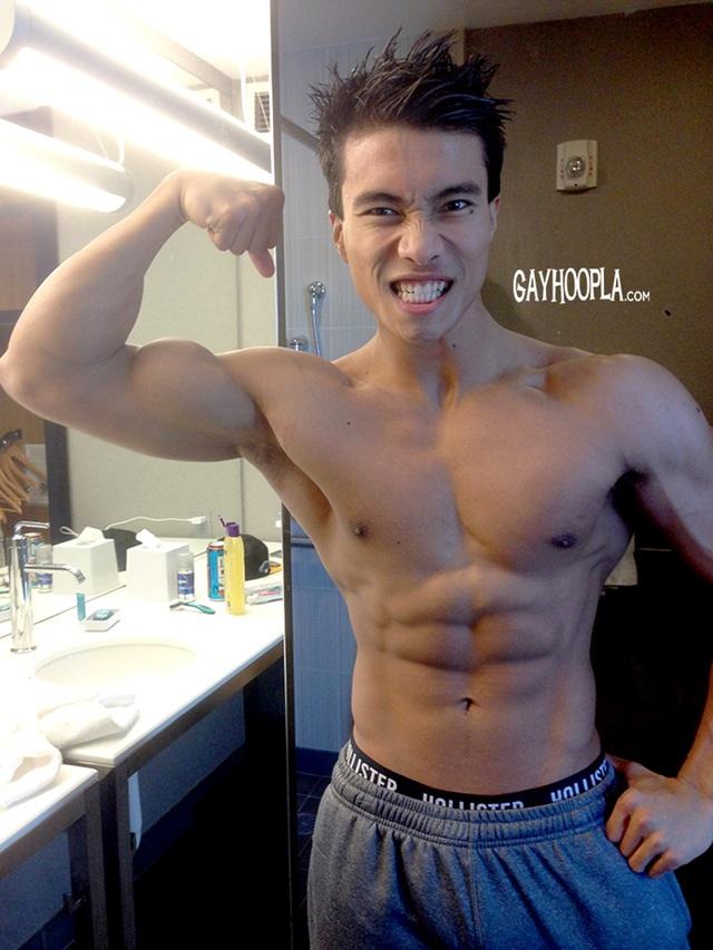 Ken Ott  Gay Porn Star Pics  Filipino Muscle Boy Huge -3167