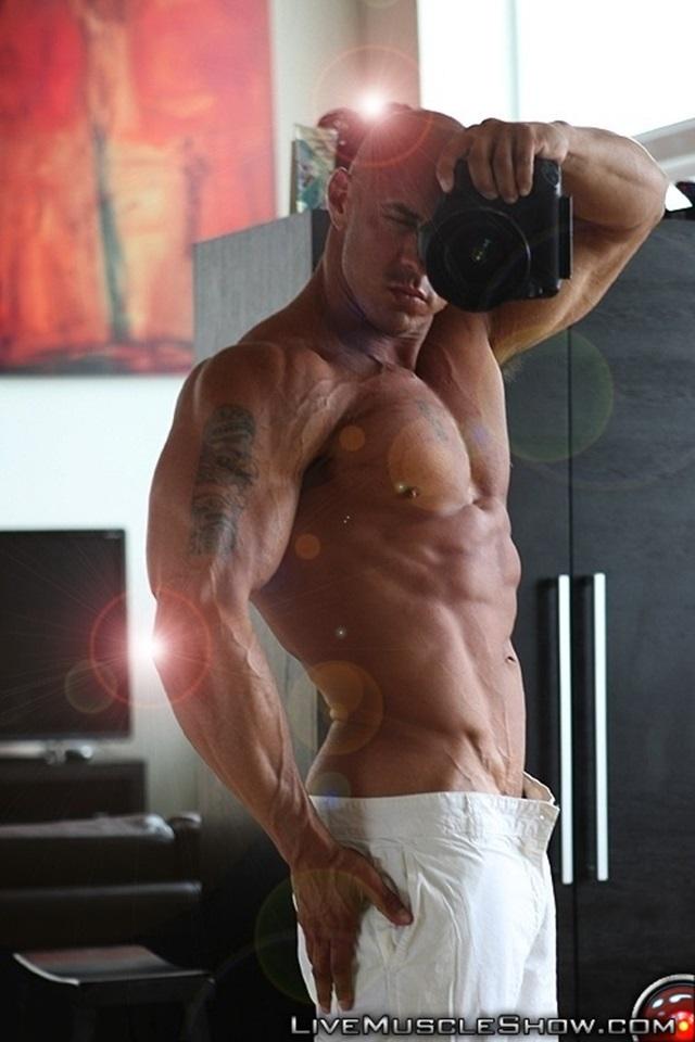 Vin Marco  Gay Porn Star Pics  Naked Bodybuilder Huge -9392