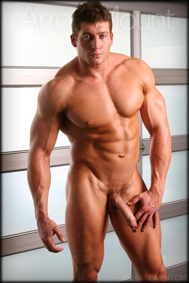 Aaron Mount  Legend Men Nude Bodybuilder  Gay Porn Pics -2815