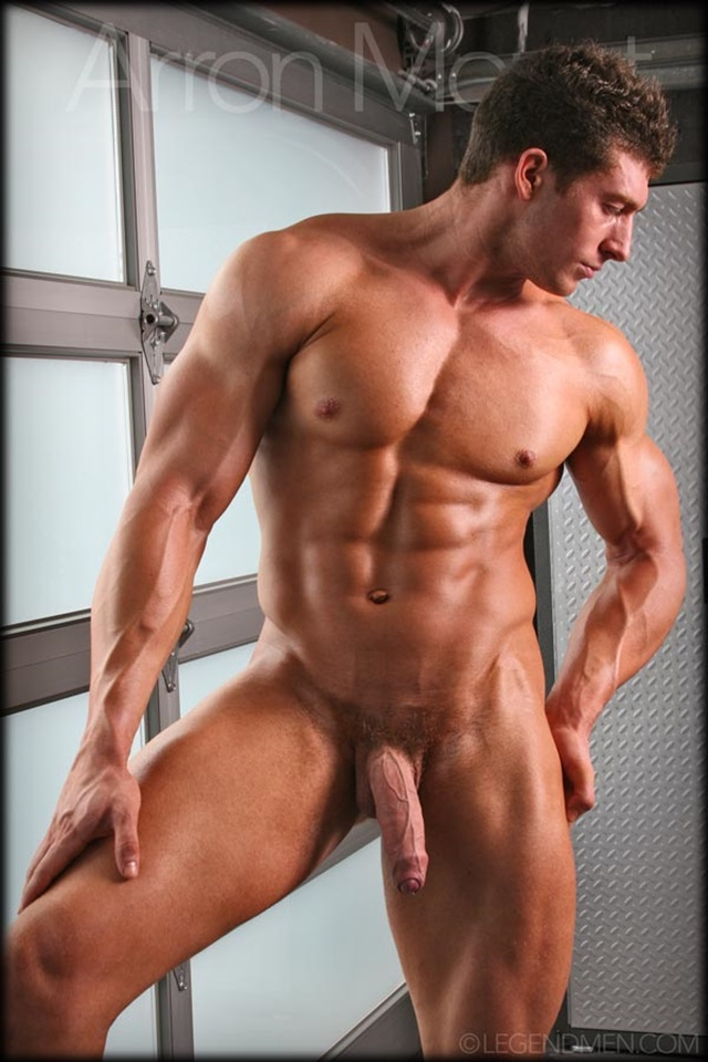 Aaron Mount  Legend Men Nude Bodybuilder  Gay Porn Pics -8605