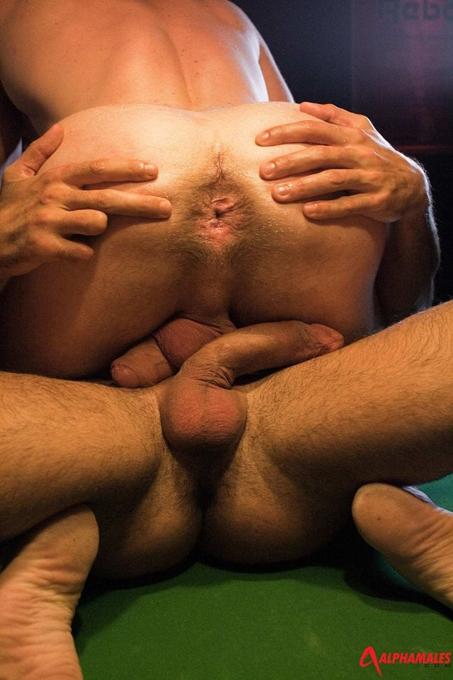 Torrid Asshole Sex With Hulking Muscled Gays