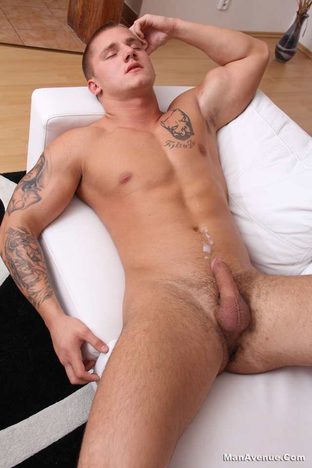 men stroking dick