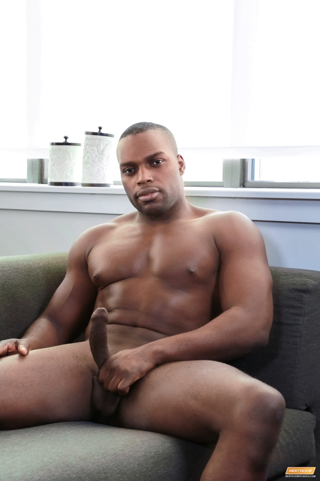 Black guy with big penis