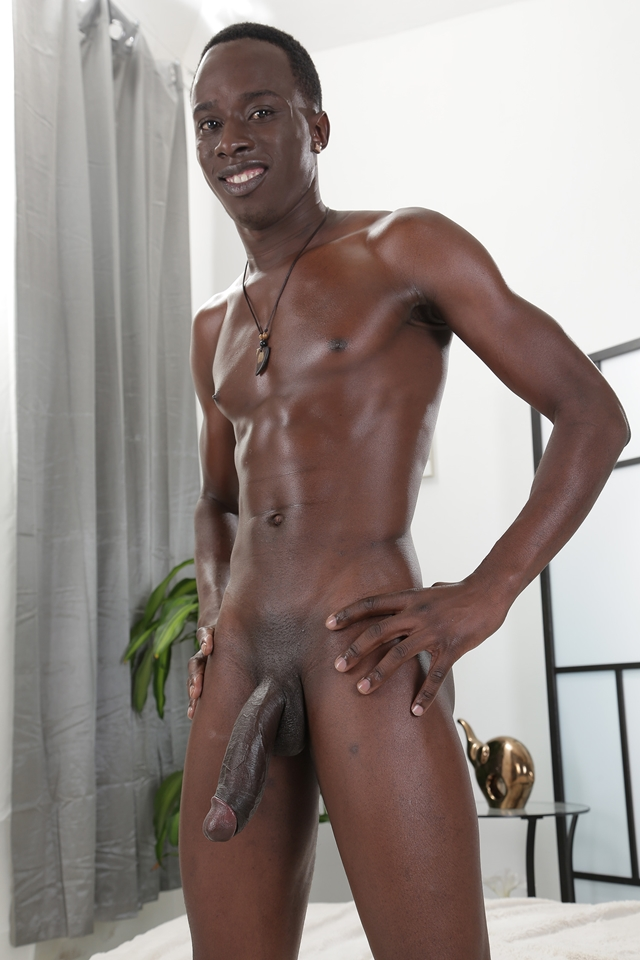 Black man gay twink
