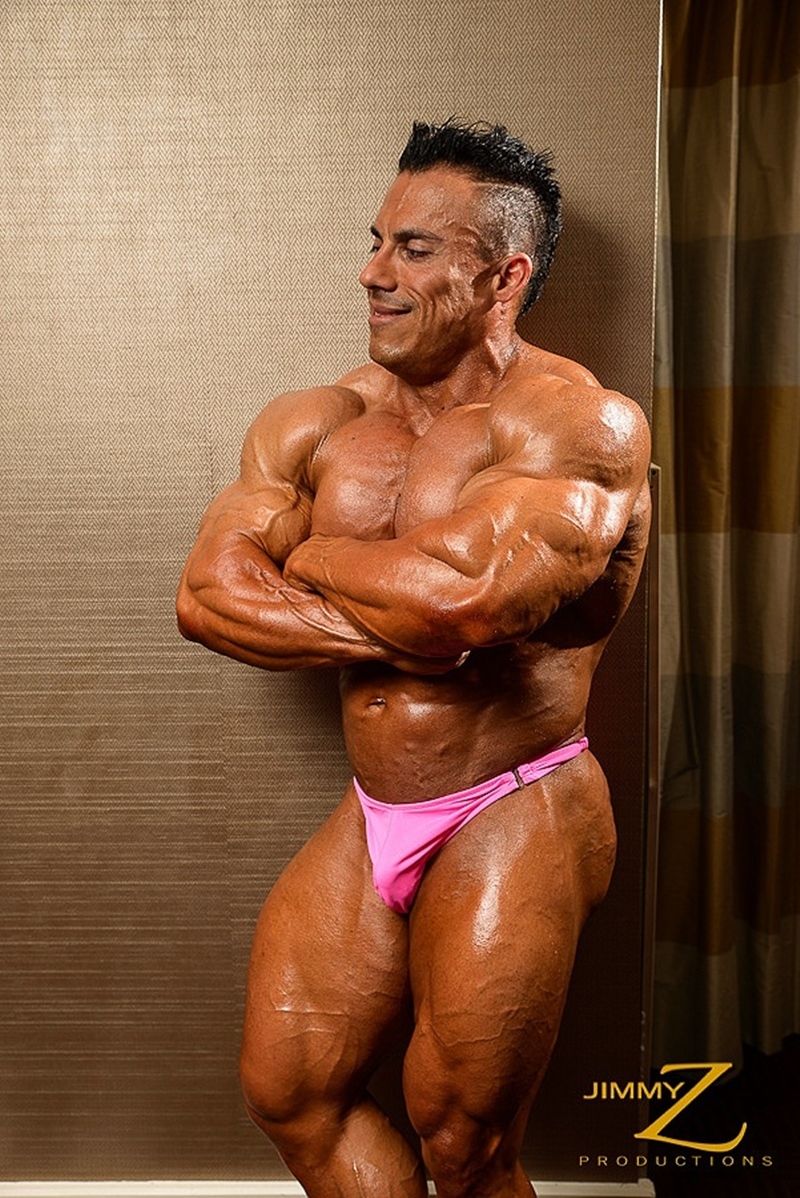 JimmyZProductions-Markus-Ranger-oil-flexes-huge-pecs-huge-biceps-thong-shredded-glutes-world-class-bodybuilder-004-nude-men-tube-redtube-gallery-photo