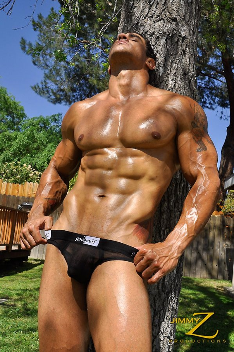 JimmyZProductions-naked-massive-bodybuilder-muscleman-Apollo-ripped-abs-and-full-pecs-motorcycle-rider-leathers-005-male-tube-red-tube-gallery-photo