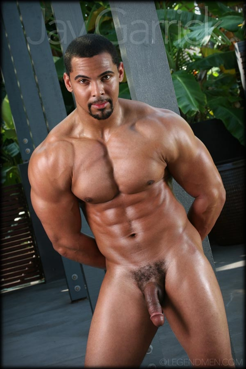 Jay Garrick  Legend Men  Big Black Muscle Dick  Naked -9591