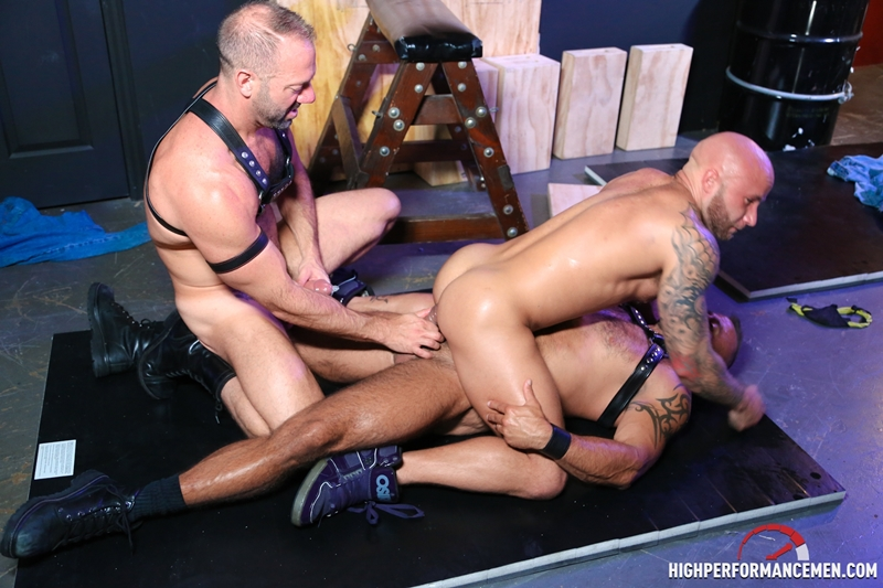 Performance Men Gay clip of The buds get naked and