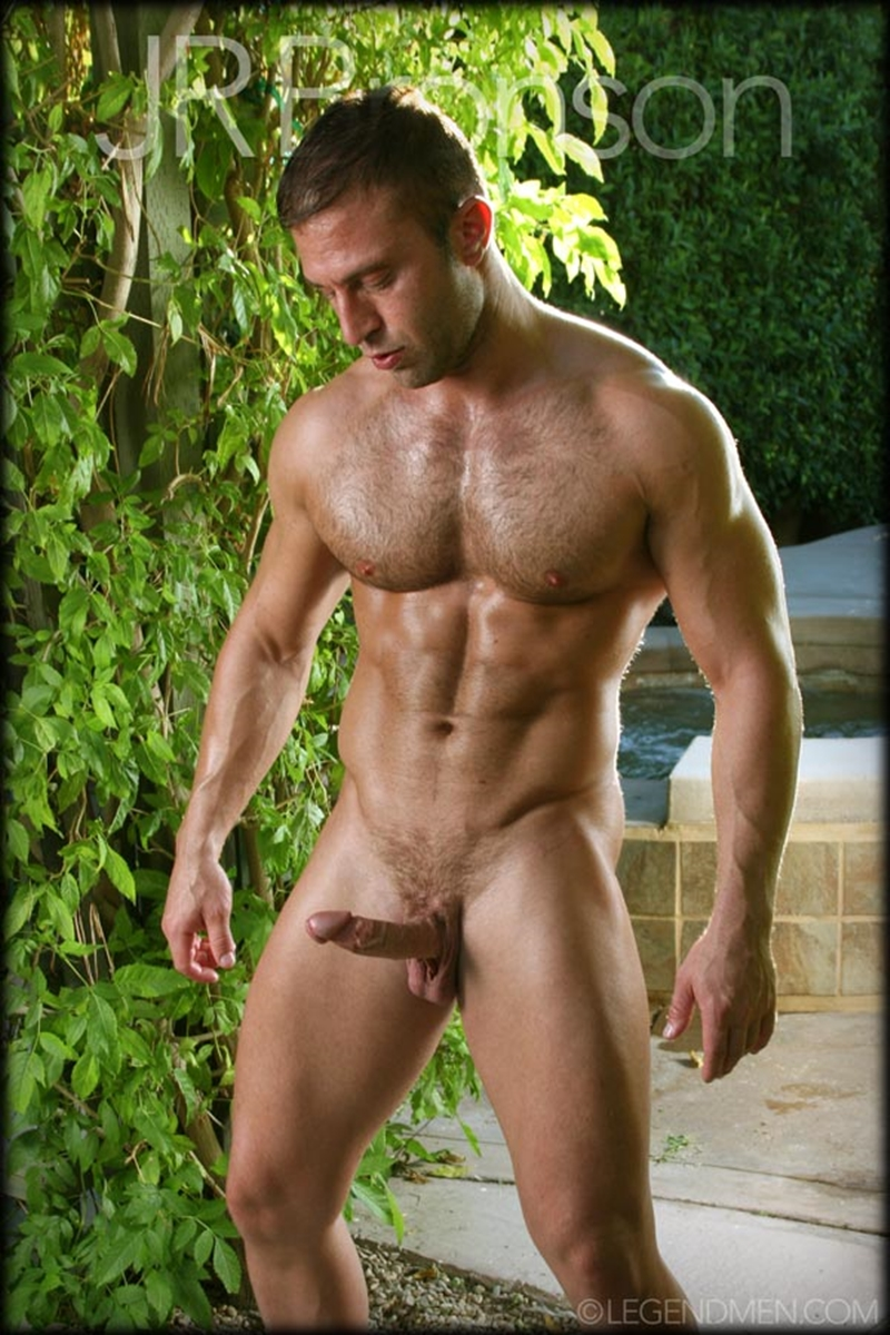 Muscled hairy chested men jd phoenix amp 2