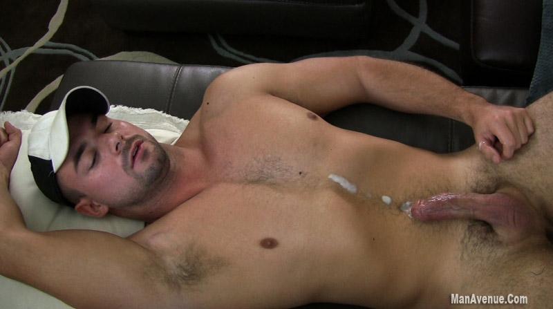 Guy Jacking Off Watching Porn