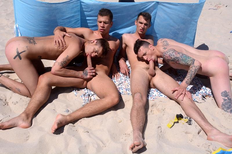 fellatio orgy - Mickey Taylor, Orlando White, Paul Walker and Pedro Ribeiro