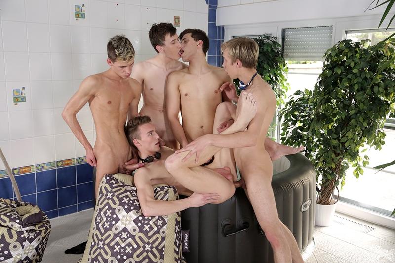 staxus young guys jacuzzi cock sucking ass fucking twink orgy mike