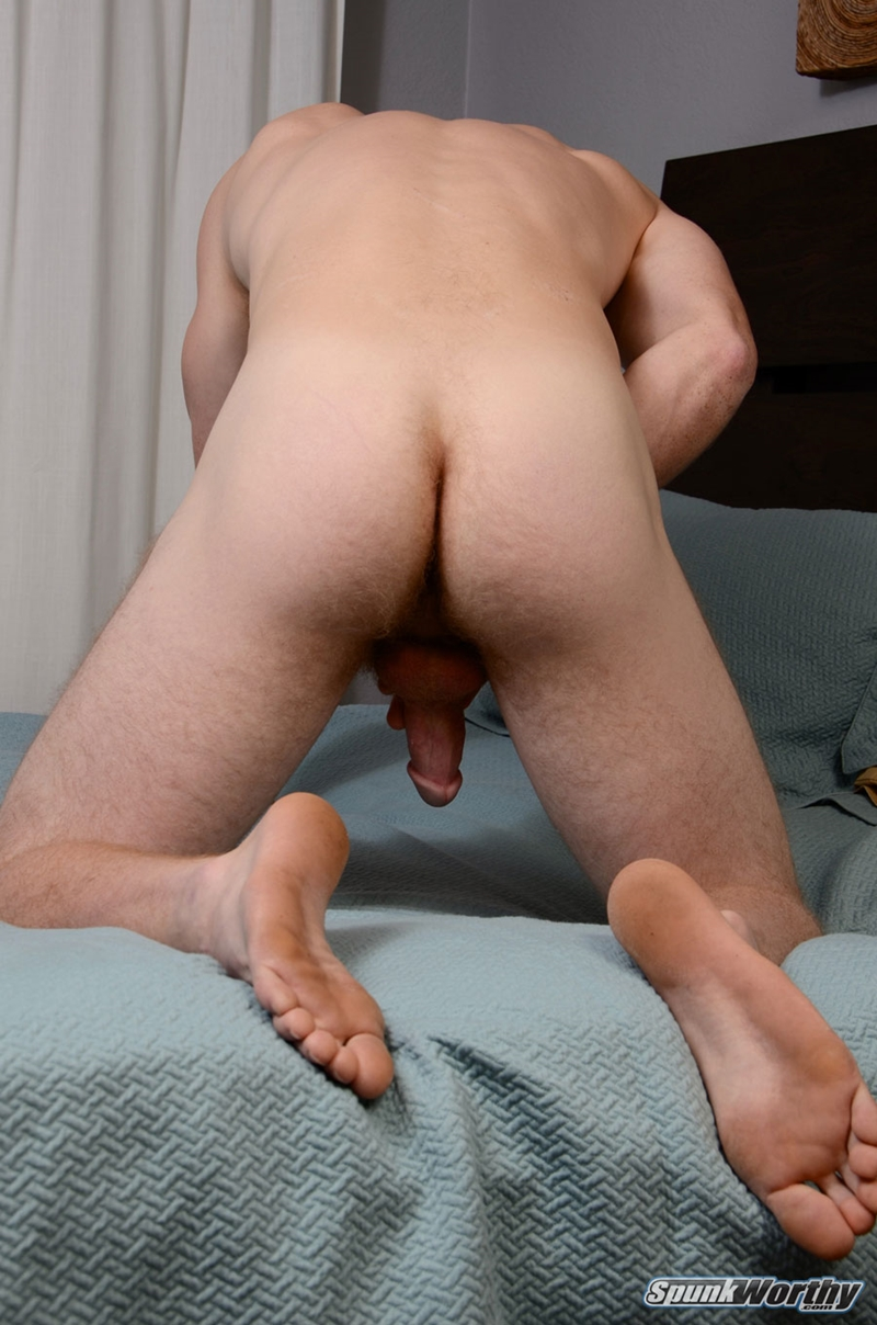 Ginger Man Gingerly Watches His Dick Getting Wanked