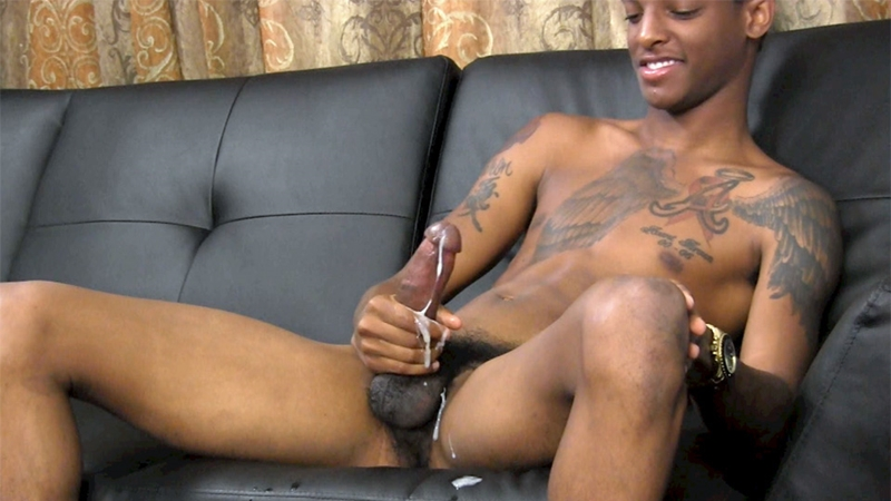 Ebony Straighty Cum Relief