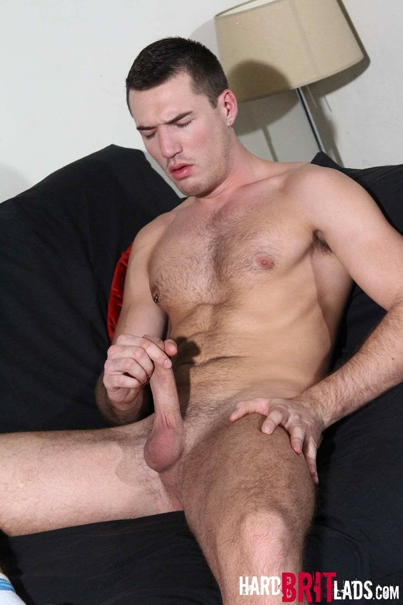Theo Ford Jerks His Big Uncut Cock  Nude Dude Blog-7256