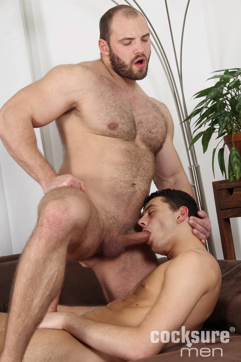 Hairy Muscle Stud Thomas Ride And Sexy Jock Adam Weisz -4435