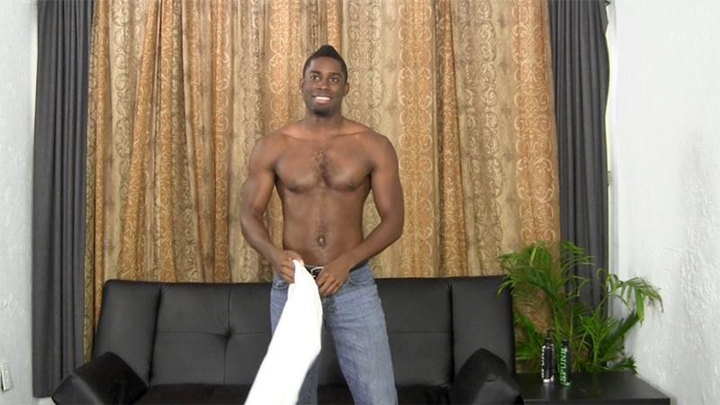 Tyler Wanks His 10 Inch Black Cock To A Huge Jizz Shower -3979