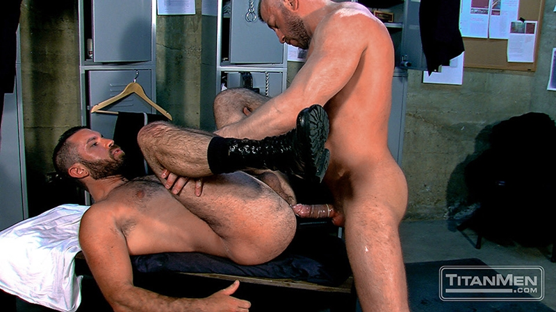 Damien Licks The Shaft Of Aarons Cock
