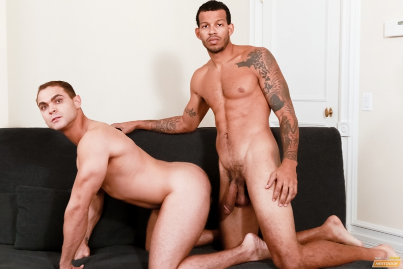 Movies of tip an erect black penis gay In