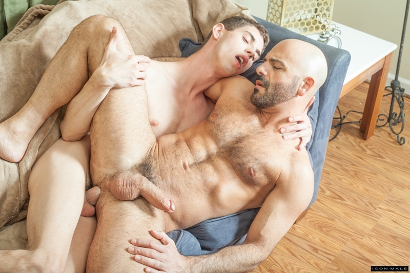image Stepson shoves cock in sexy milf mouth and pussy