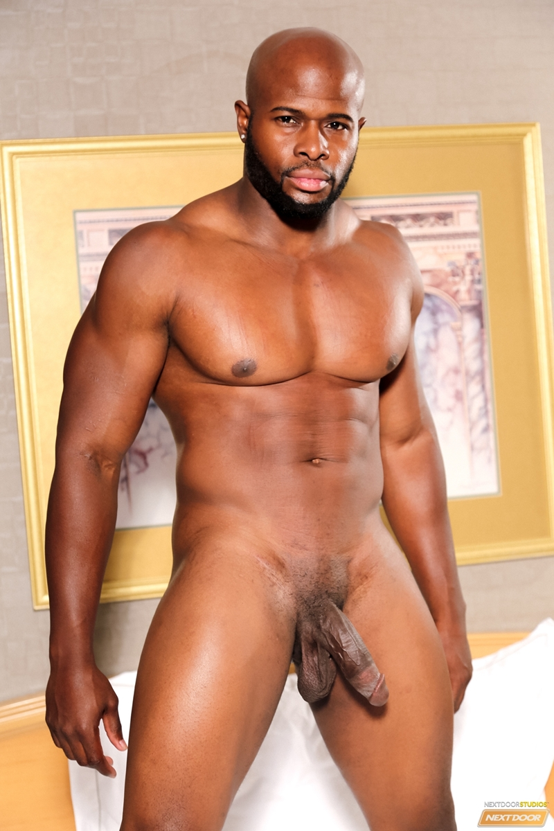 Sexy Black Dude Darian A Wanks Out A Huge Load Of Muscle -4958
