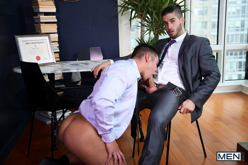 Diego Fucking His Coworker In The Office