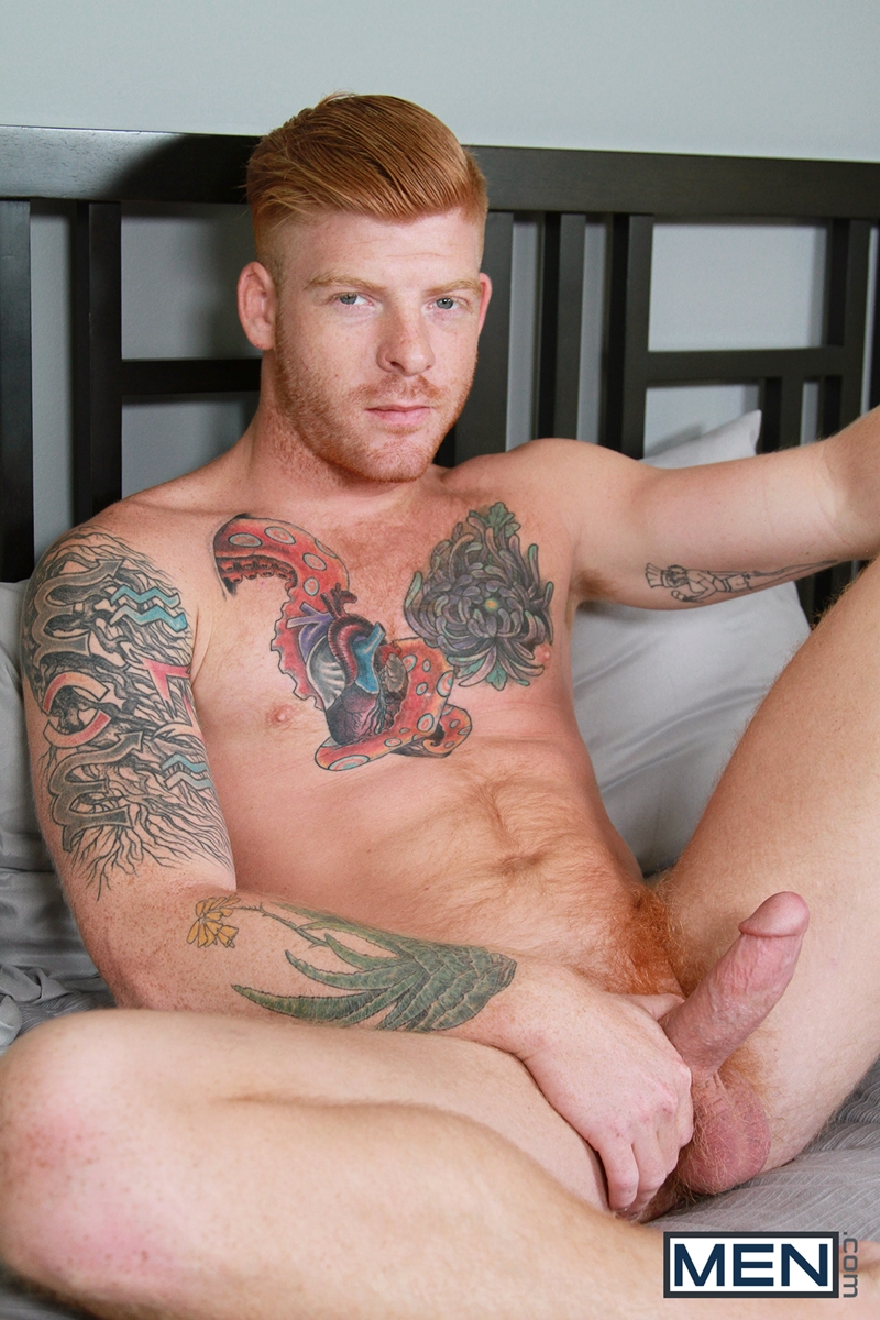 Sexy Hairy Ginger Stud Bennett Anthony And Dennis West -3473